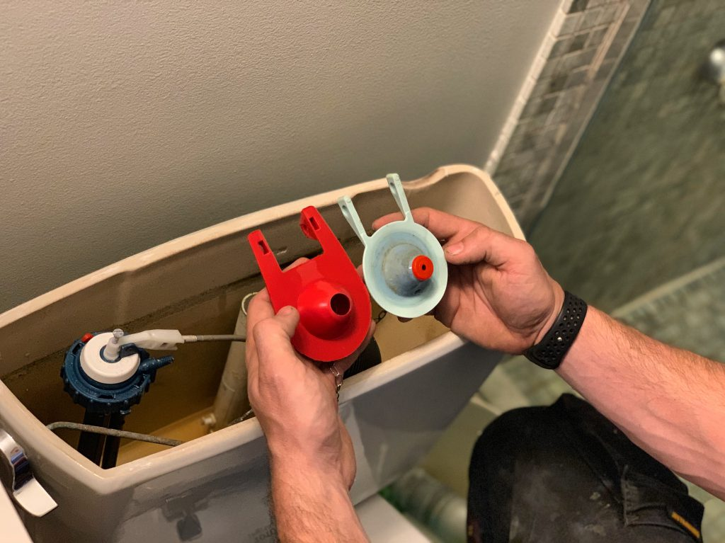 Flopper replacement by First Chicago Plumbing